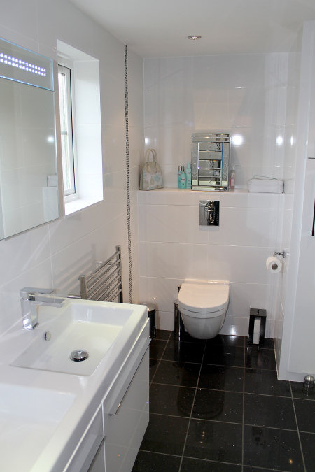 28 oasis bathrooms master bathroom with brown tiled shower for Small bathroom oasis